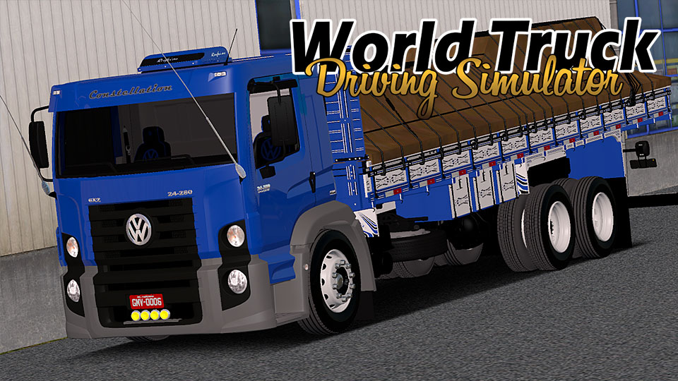 Novo Caminhão No World Truck Driving Simulator!