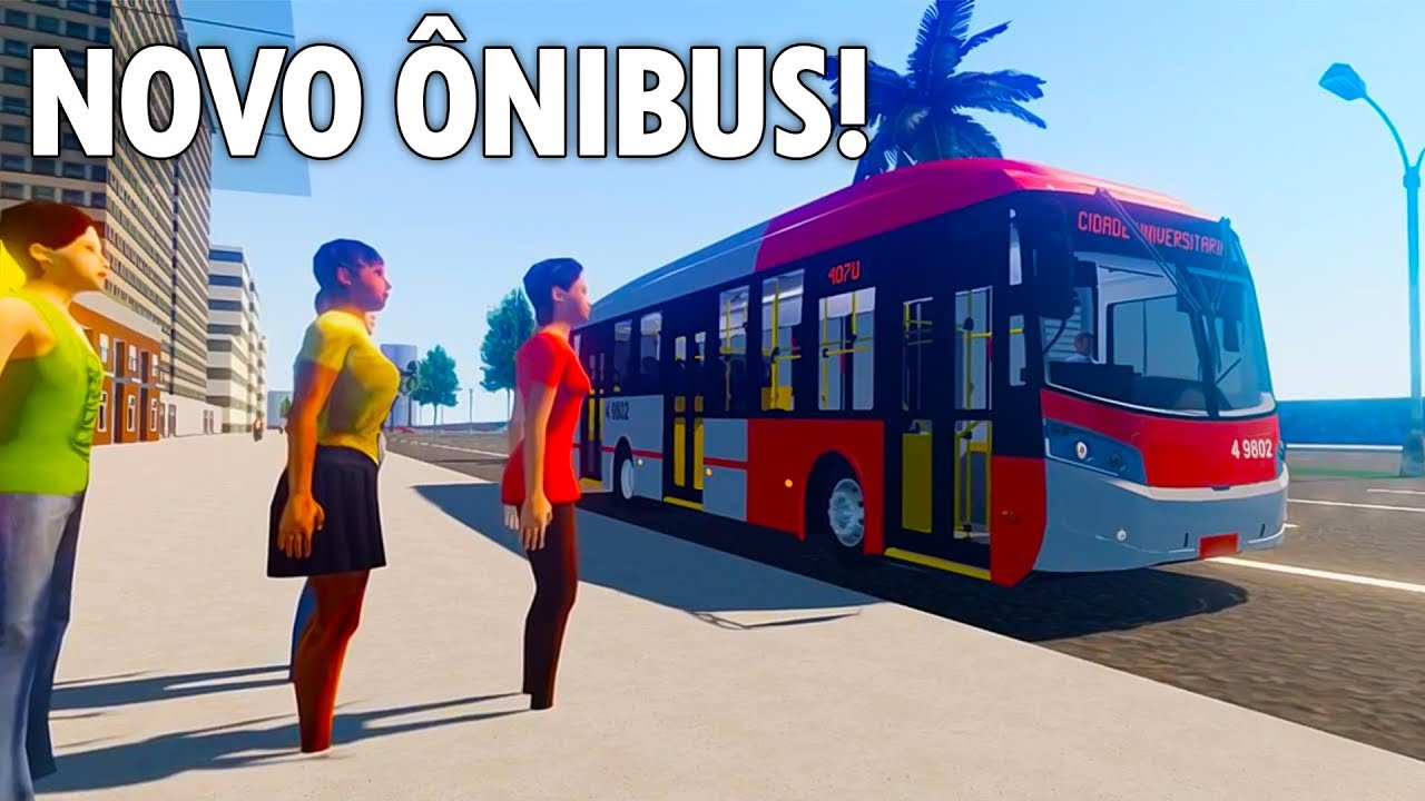 Novas fotos do novo Onibus do Proton Bus Simulator Android/PC!
