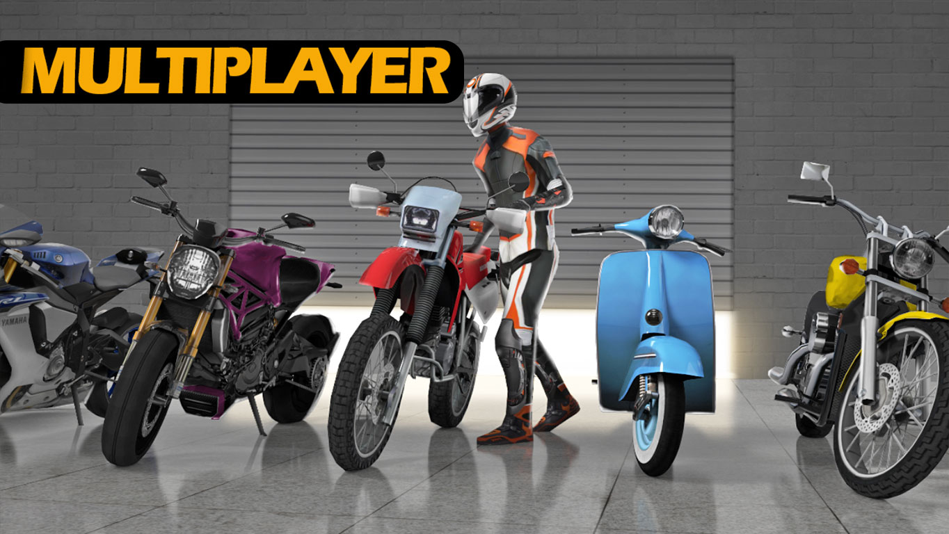 Jogo de Motos Multiplayer Para Android Moto Traffic Race 2 (DOWNLOAD)