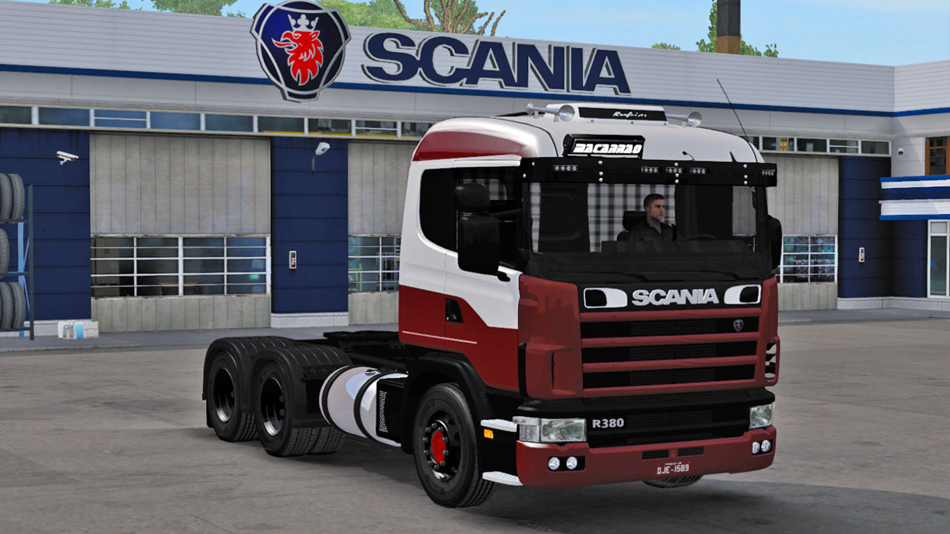 Euro Truck simulator 2 – MOD SCANIA R380 DO NENÉ