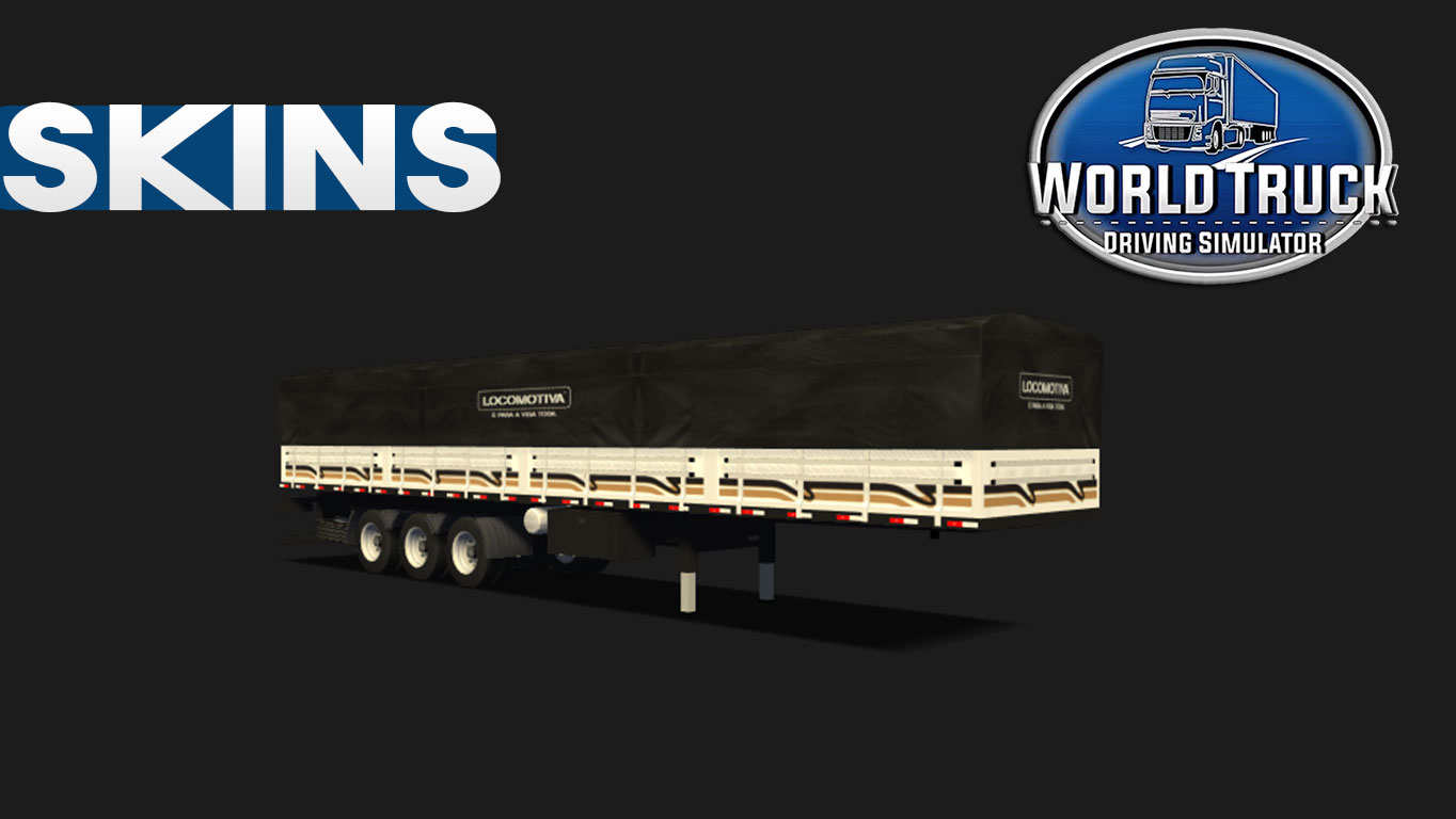 Skin Carreta Graneleira world truck driving Simulator