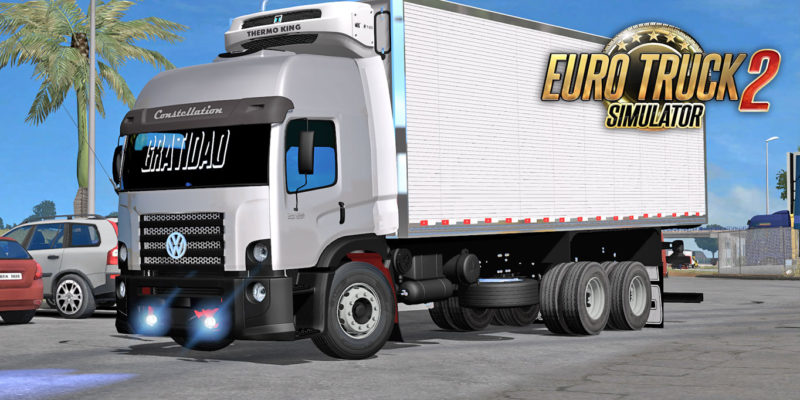 Euro Truck simulator 2 – Mod VW Constellation 24-280