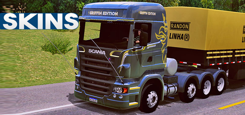 Skins Scania SCANIA R620 GRIFFIN EDITION World Truck Driving Simulator