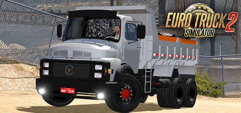 Euro Truck Simulator 2 – Mod Mercedes 1518 V2 DOWNLOAD 1.32