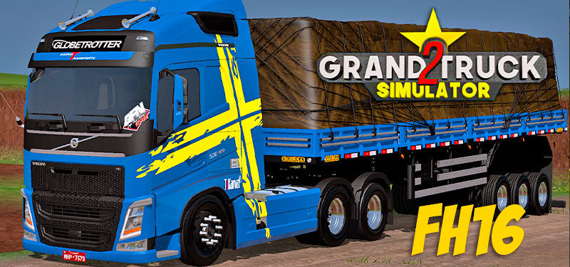 Grand Truck Simulator 2: Novas Fotos do Novo Caminhão Volvo FH16 CONFIRAM!!