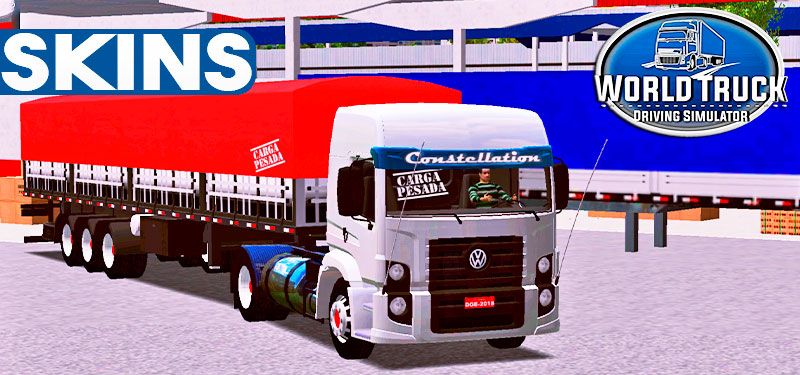 Skins VW Constellation Serie Carga Pesada