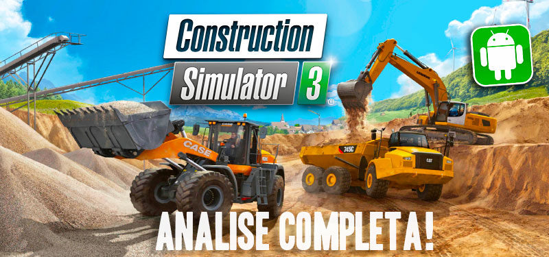Construction Simulator 3 Analise Completa do Jogo Confiram!!