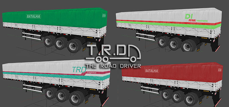 The Road Driver:  Confiram Como ficaram as skins das graneleiras!
