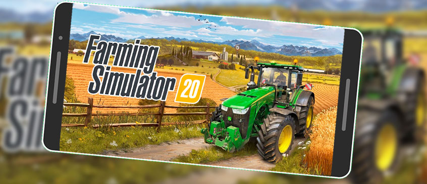 SAIU! Farming Simulator 20 Android Trailer Oficial Confiram!