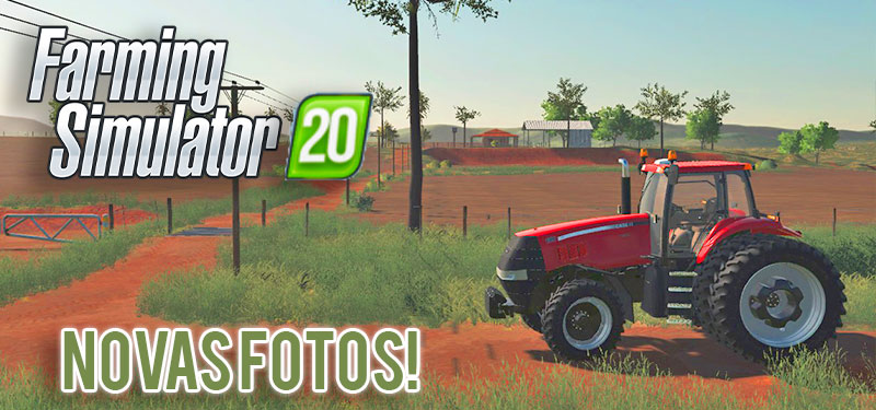Farming Simulator 20: Novas Fotos Exclusivas do Jogo!
