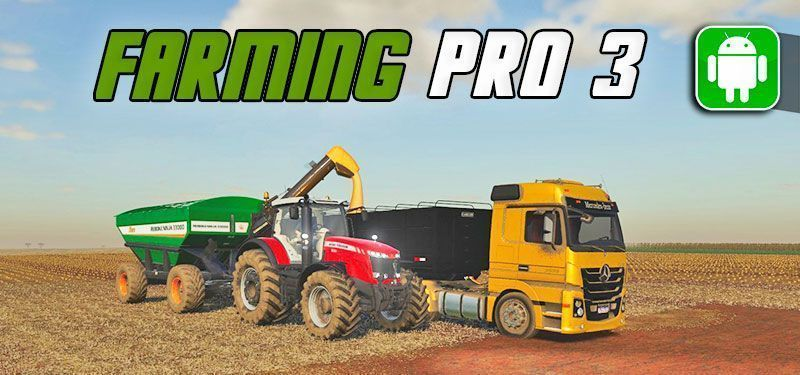 Novo Farming Simulator para Android: Farming PRO 3 (DOWNLOAD)