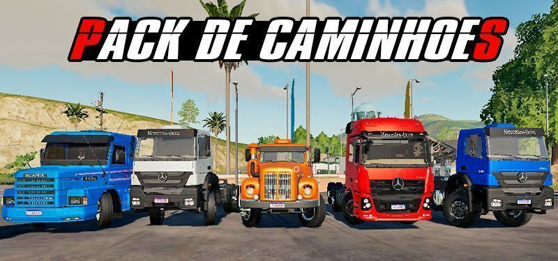 MOD PACK DE CAMINHÕES FARMING SIMULATOR 19 (DOWNLOAD)