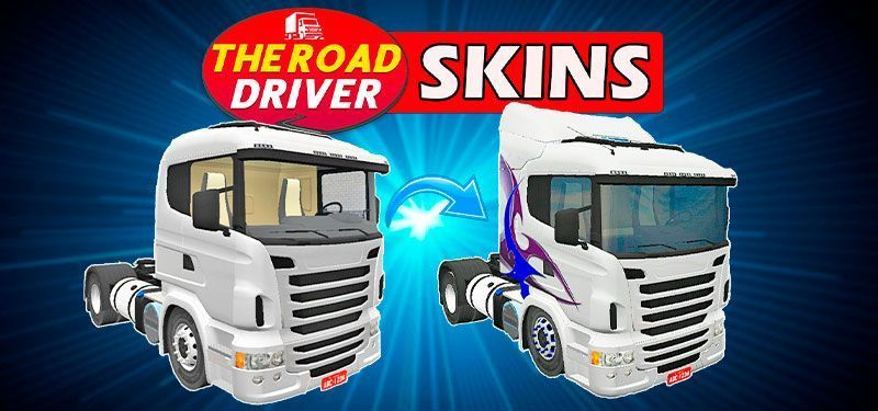 THE ROAD DRIVER: DOWNLOAD PACK DE SKINS E TUTORIAL DE COMO BAIXAR