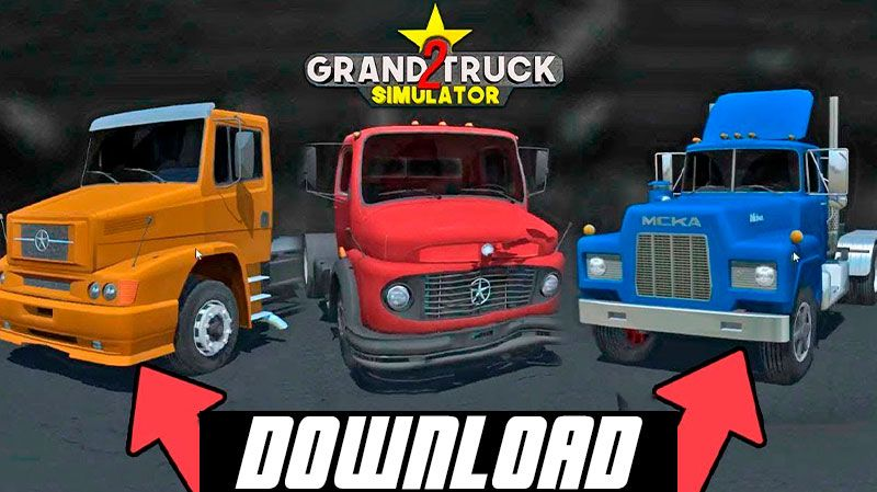 LANÇAMENTO OFICIAL GRAND TRUCK SIMULATOR 2 PARA ANDROID (DOWNLOAD)