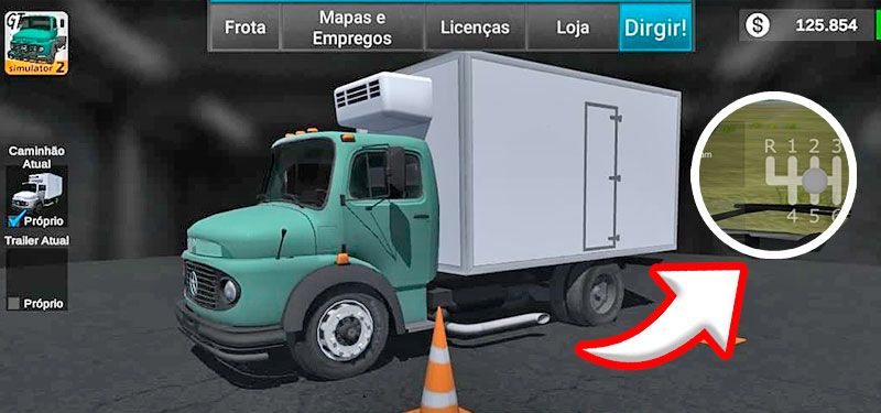 Grand Truck Simulator 2 Novidades: Idiomas e Cambio Manual CONFIRAM
