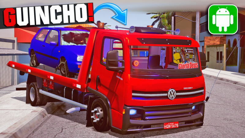Mod VW Delivery Guincho Arqueada e Qualificada no Proton Bus Simulator