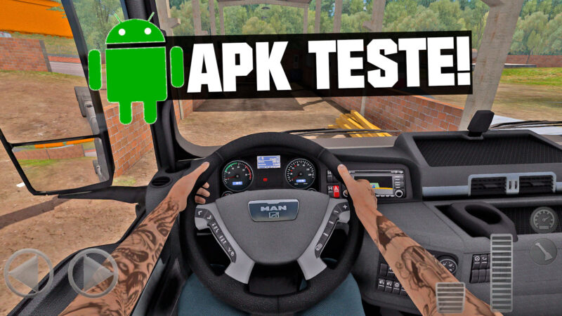 Truck Simulator Eastern Roads – APK DE TESTE PARA MODIFICAR INTERIOR DOS CAMINHOES! (DOWNLOAD)